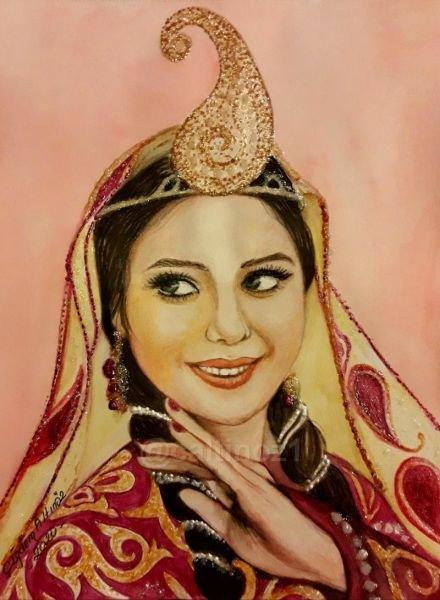 158-Azeri Türk kızı