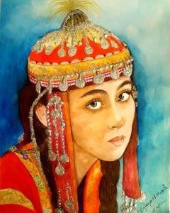 Uygur Türk kızı 2