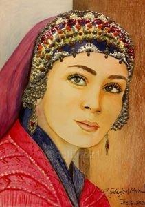 91 - Kayı boyu Türk kızı