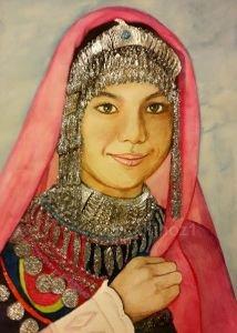 120 -Hazara Türk kızı