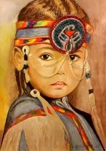 Kızılderili kız 3