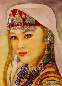 90 -  Türk kızı