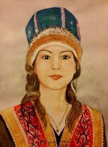 125-Çelkan Türk kızı