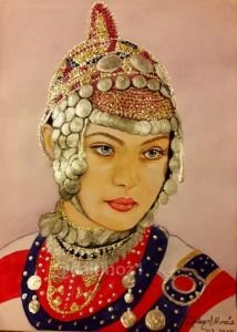 94 - Çuvaş Türk kızı