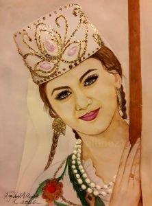 Özbek kızı