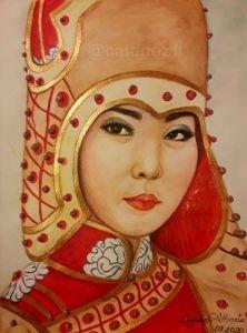117 -Tuva Türk kızı