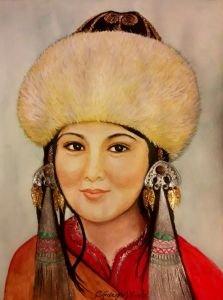 110 - Kırgız kız