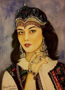 154- Özbek Türk kızı