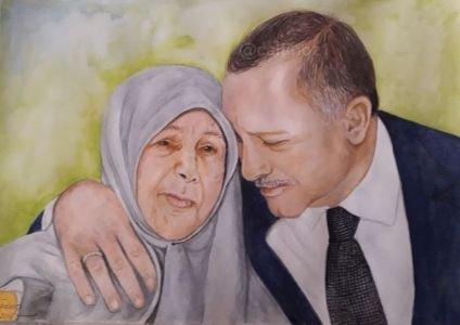 Tenzile Erdoğan-Recep  Tayyip Erdoğan