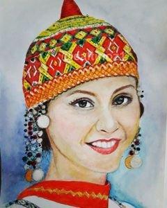 Türk kızı Tacik
