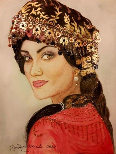 159-Türk kızı